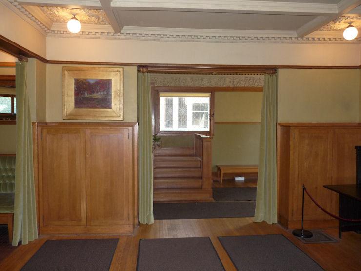 Casa-Estudio de F. Ll. Wright - Hall de entrada