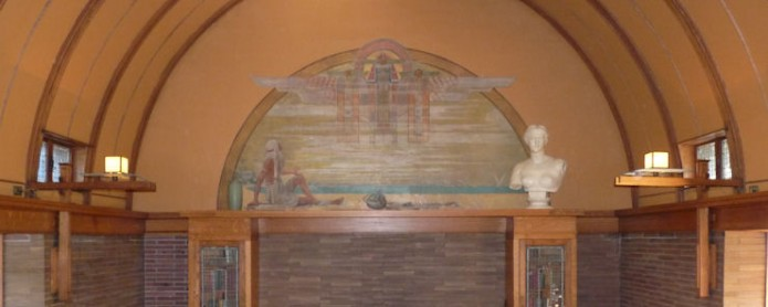 Casa-Estudio de F. Ll. Wright - Sala de Juegos