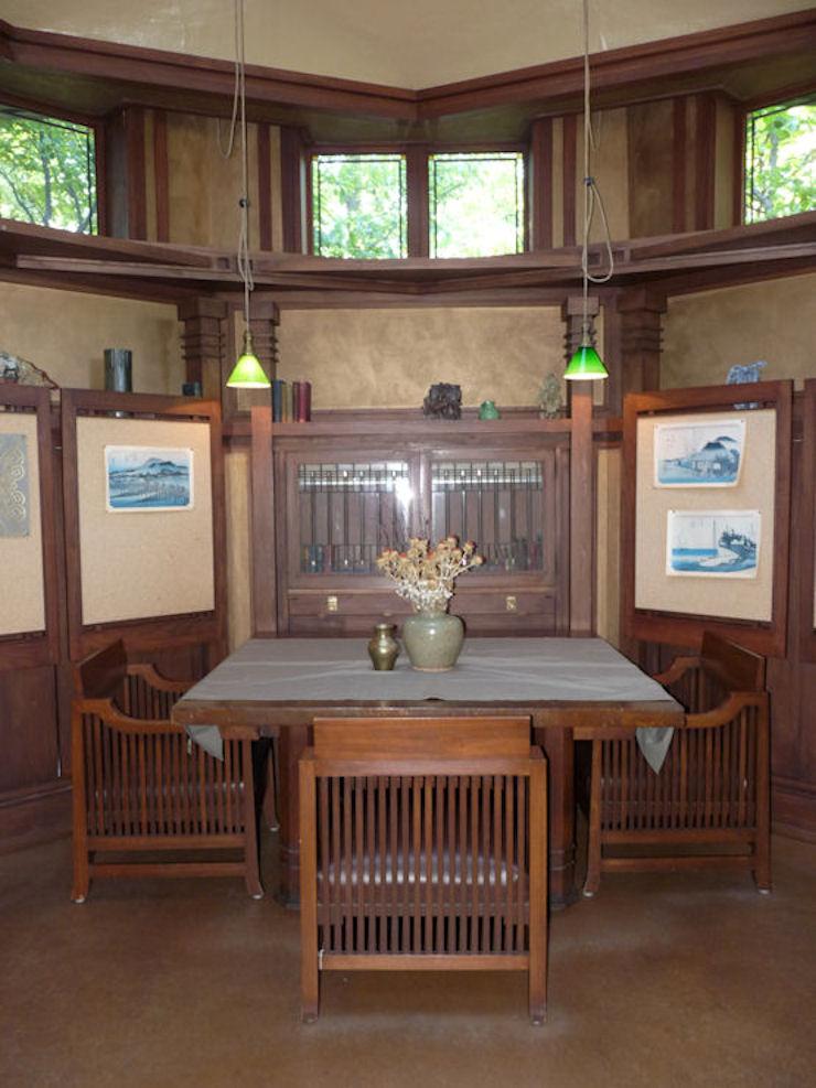 Casa-Estudio de F. Ll. Wright - Biblioteca