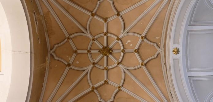 Bóveda de terceletes del crucero