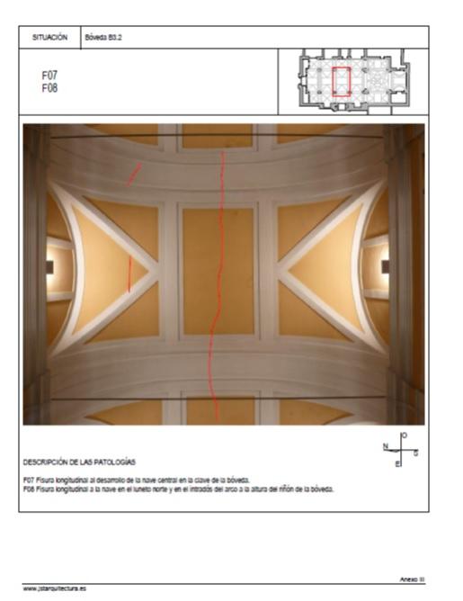 Ficha Bóveda nave central