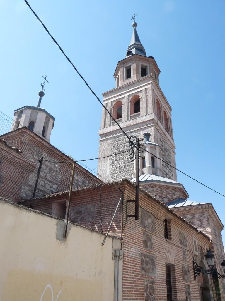 Fachada norte y torre
