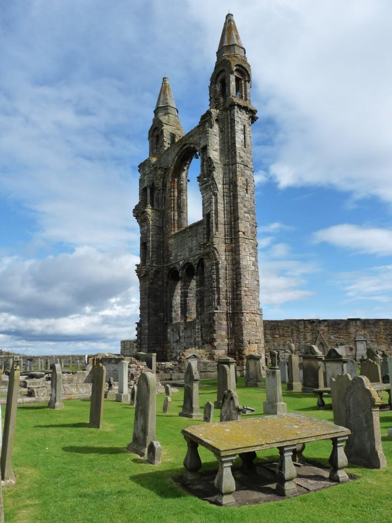 Saint Andrews Cathedral - Torres de la cabecera