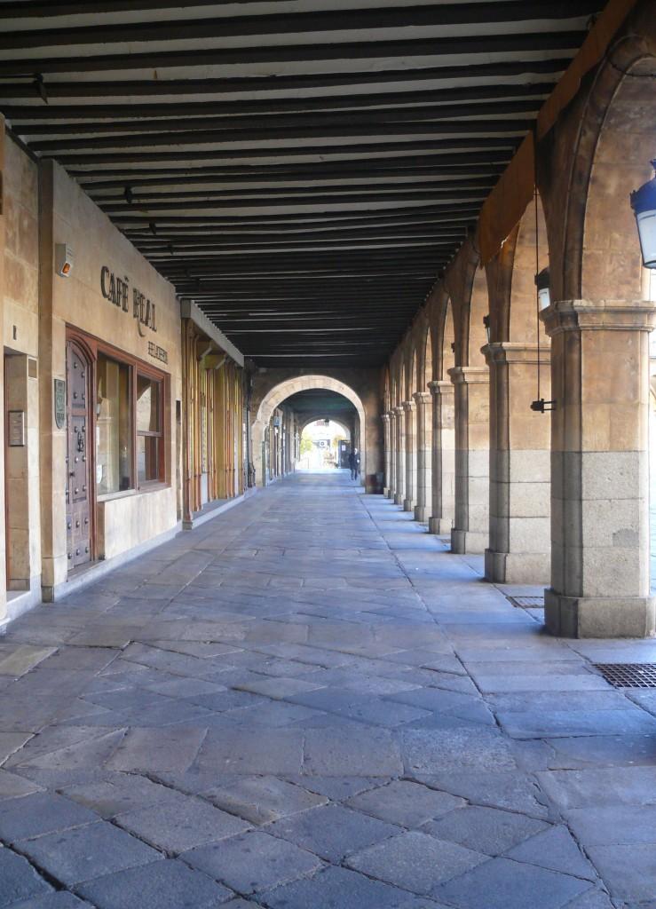 Soportal Plaza Mayor - Salamanca