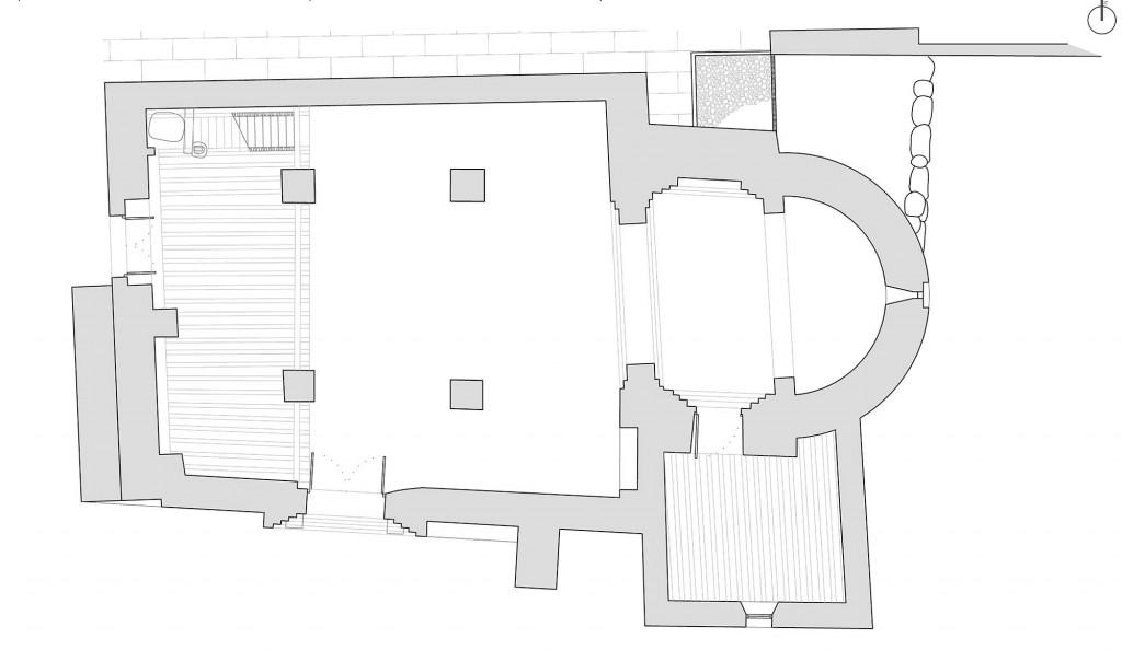 Ermita de Santa María la Antigua de Carabanchel - Planta